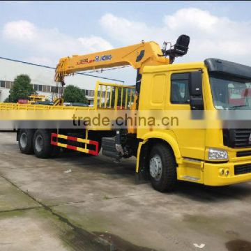 HOWO LORRY TRUCK WITH CRANE 3.2Ton