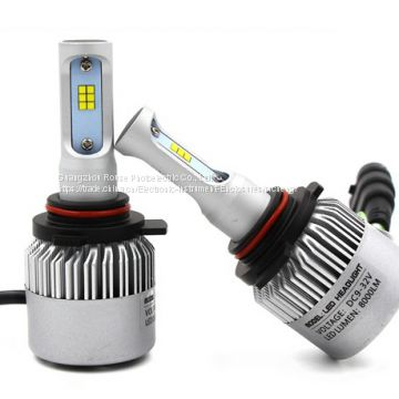 led car headlight S2 H1 CSP 8000lm/set 72w/set led headlight 36w/bulb 4000lm/bulb lamp