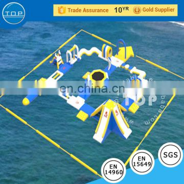 cheap prices new open water games commercial giant adult portable inflatable floating water park