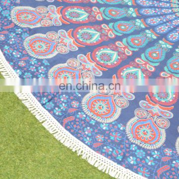 Home Decor Decorative Round Table cloth Indian Round Table Cover