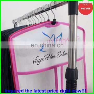 2015 latest fashion best quality drawstring bags for hair packing