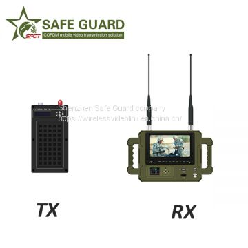 military microwave RF radio cofdm video sender