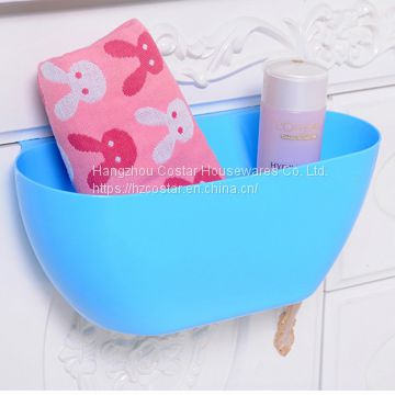 New Design Plastic Kitchen Waste Garbage Can Multifunctional Hanging Trash Bin Containers