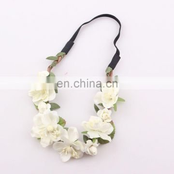 Wedding flower garland headband of hair ornament from china wedding flower garland headband mightylinksfo