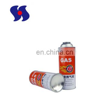 Empty Aerosol Tin Can for Gas Cartridge/Gas Can