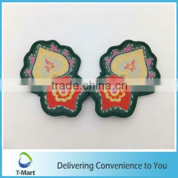 Fashionable Embroidery Badge/Sticker/patch design for clothings, bags, and garments