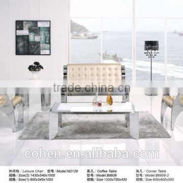 thick stainless steel leisure single sofa chair ND129
