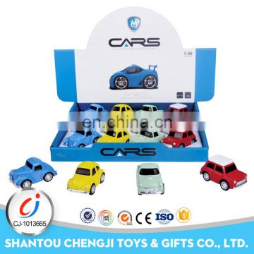 Baby mini cartoon metal models toy diecast car custom made
