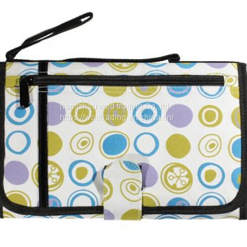 full printed organzier bag with handle from China factory