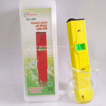High quality LCD backlight pocket PH meter water tester PH pen