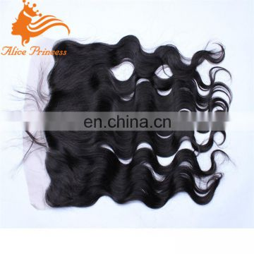 free part silk base lace closure 13x4 brazilian lace frontal closure body wave virgin ear to ear lace frontals with baby hair