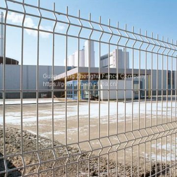Cheap welded wire mesh 3D fence panels design airport fence for Kenya