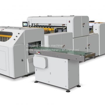 Cross cutting machine for the A4/A3 Paper Automatic trimming and Packaging