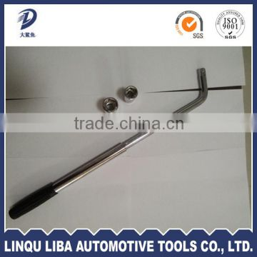 Alibaba China with a Trade Assurance 1 head Mirror Chrome Plated L-Shaped Flexible Wrench
