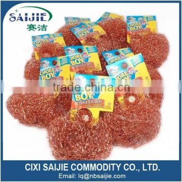 Chore Boy 100% Pure Copper Scrubber Copper Scouring Pad                                                                         Quality Choice