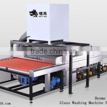 FoShan machine !!Hot-sale Heyma Glass Washing Machine and cleaning dryer 2500mm Air Knife washing machine
