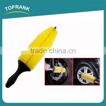 TPR handle auto cleaning brushes ultimate alloy car wheel brush