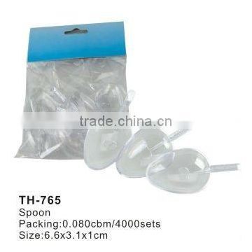 HOT!promotion useful plastic spoon (TH765)