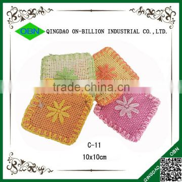 Custom paper woven table mat for restaurant