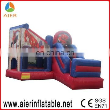 Spiderman inflatbale jumping castle