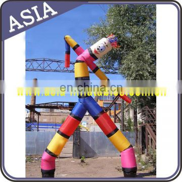 Colorful Inflatable tube dancer, inflatable air dancer for outdoor advertising