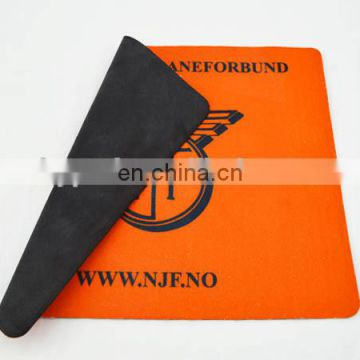 hot transfer printed fabric mouse pad