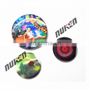 Hot selling 3d customized lenticular badge