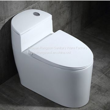 Manufacturer factory  Bathroom high quality ceramic new TOTO siphonic one piece water closet with slow down seat cover