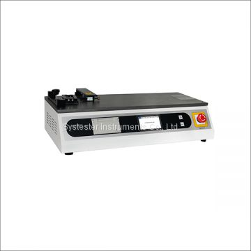 Package Printing Friction Testing Plastic Film Coefficient Of Friction Tester Cable