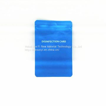 Portable Chlorine dioxide lanyard air space sterilization vlrus disinfection protection card
