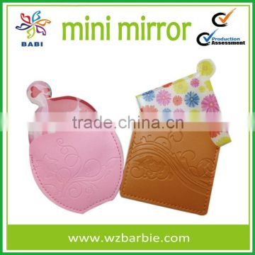 flower shape mini mirrors