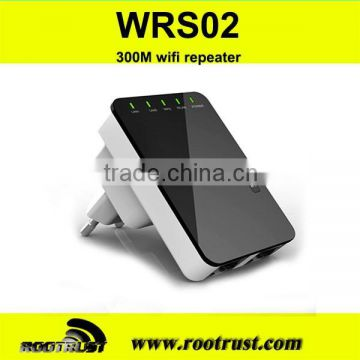 Wireless-N Router AP Repeater Booster WIFI Amplifier LAN Client Bridge IEEE 802.11 b/g/n 300Mbps EU Plug Adapter                                                                         Quality Choice