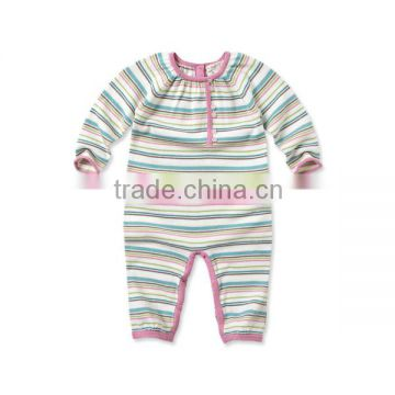 DB845 dave bella baby clothes kid clothing autumn cotton infant clothes baby one-piece knit baby romper baby coverall babysuits