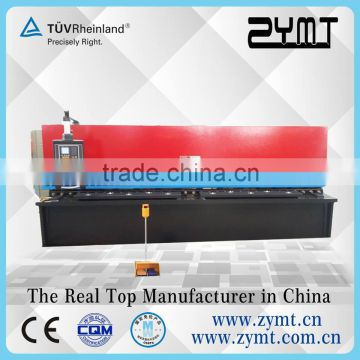 China manufacturer auto hydraulic steel plate shearing machine 8 feet 1/6 inch swing beam shears