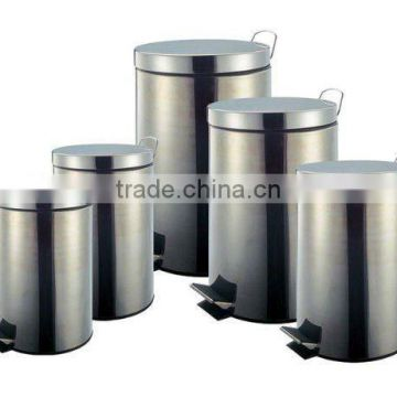 Stainless Steel Trash Bin Set of 5 /Waste Bins