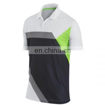 Factory price sublimation printing purple stripe man golf shirt