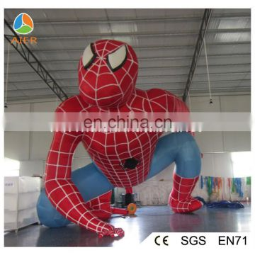 Advertising inflatable spiderman,spider man model,giant inflatable spider-man