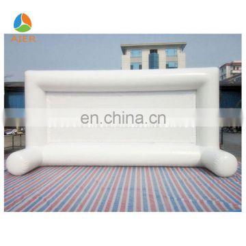 Outdoor cinema inflatable screen,inflatable movie screen for sale