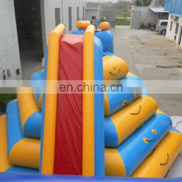 water park equipment adult sliding toy, inflatable floating climbing