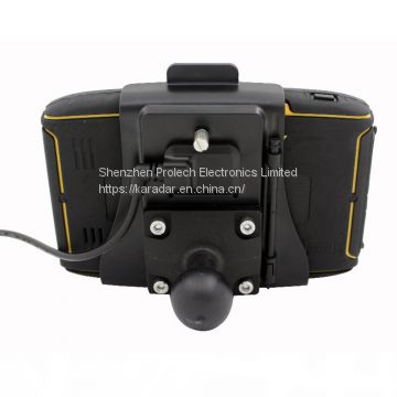 Karadar Car Sat Nav Truck Gps Navigation Mt-5001 With Motorcycle Gps Holder