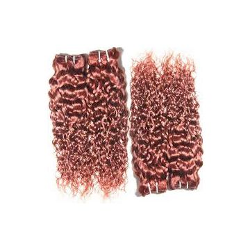 Indian Grade 8a Brazilian Curly Human Hair Grade 8A