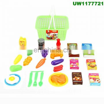a22d7d10e4b1 Play Food Set for Kids   Toy Food for Pretend Play - Huge 125 Piece Play  Kitchen Set with Children Educational Food Toys for To of Hot sale from  China ...