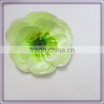 artificial camellia flower with silk stocking flower heads