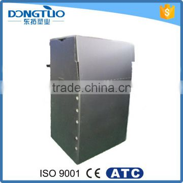 Foldable plastic wardrobe closet, portable pvc plastic storage wardrobe