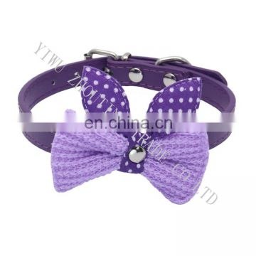 Whosale colorful lovely pet collar for small animal in stock ,pet collars personalized