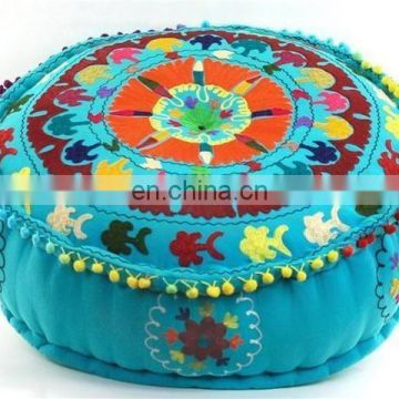 Indian Handmade Fabric Ottoman & Pouf Stool from India