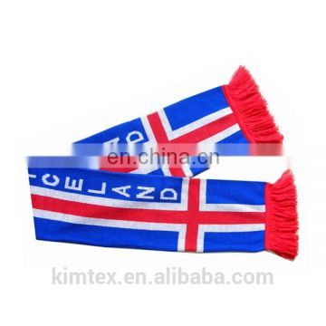 Wholesale cheap custom acrylic knit scarf