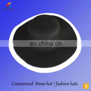 0952d897604fb women straw paper hat for hot summer of E