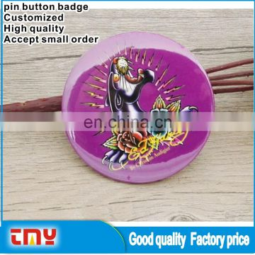 Cheap Custom Pin Button Badge Promotion Blank Pin Button Badge Wholesale Worldwide BA1003
