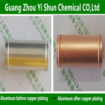 Local copper plating Copper electroless plating Brass electroless plating